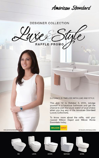 American Standard Luxe and Style Promo