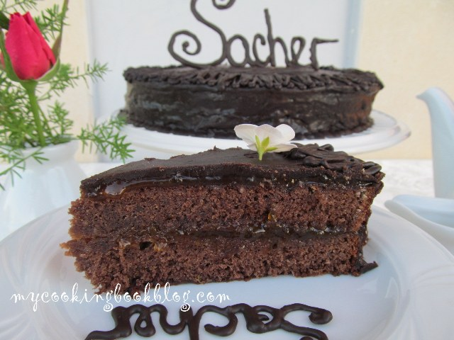 Торта Захер или Сахер (Sachertorte)