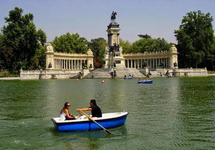 парк в Мадриде
