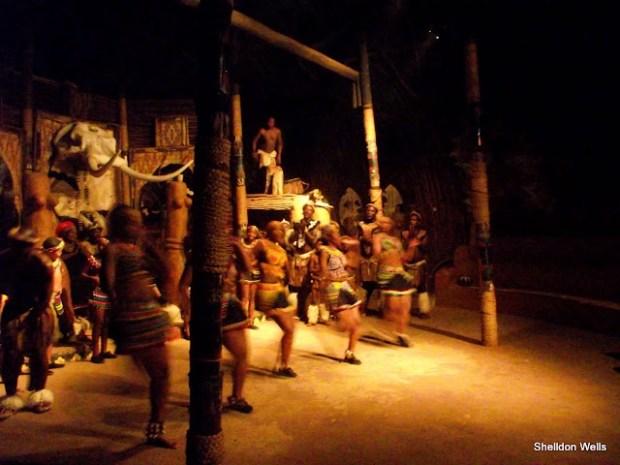 Zulu dancers on the Shakaland Day Tour