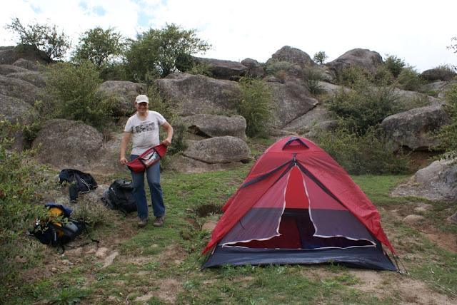 Camping en La Cumbrecita
