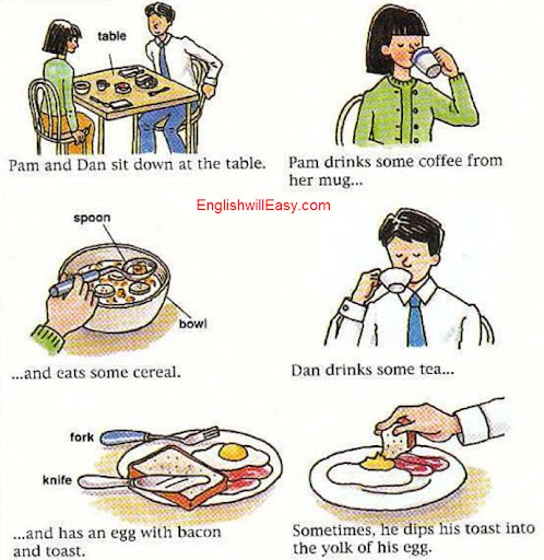 English Picture Dictionary for Everyday Activities