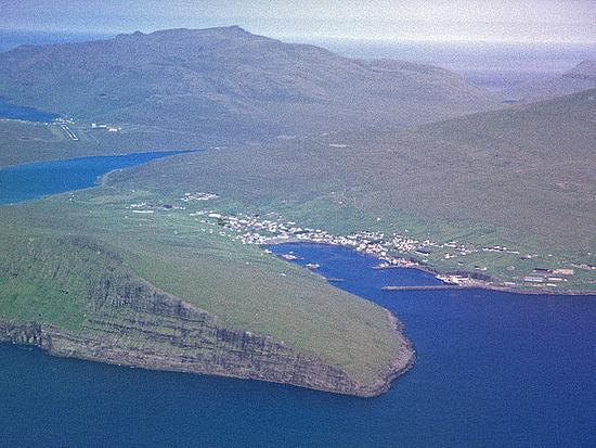 Sorvagsvatn (Leitisvatn) Lake, Faroe Island Seen On www.coolpicturegallery.us