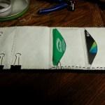 I made a new wallet last night
