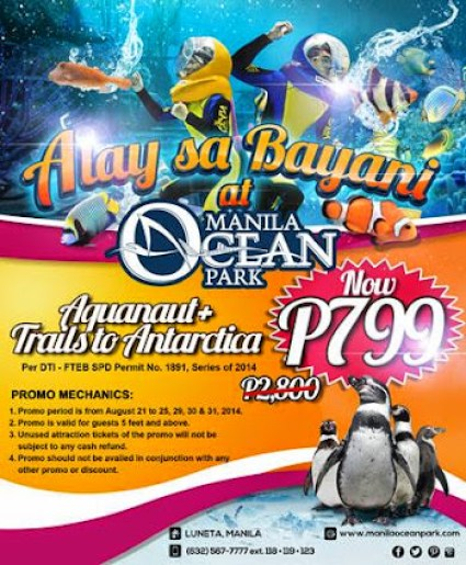 Promo: Manila Ocean Park Alay sa Bayani