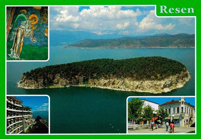 resen postcard old 3 - Resen Macedonia - Old Photos