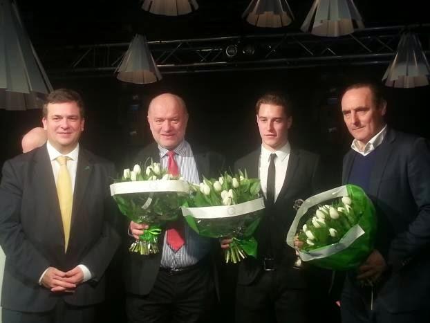 Stoffel Vandoorne persoonlijkheid van het jaar 2014 in Roeselare