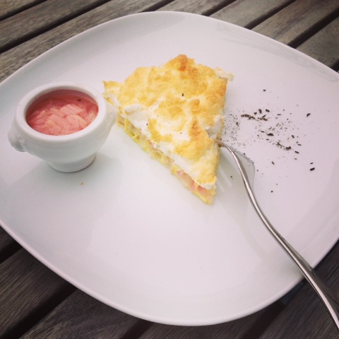 Rhabarber... Kompott, Sirup und Kuchen in der Low-Carb-Version