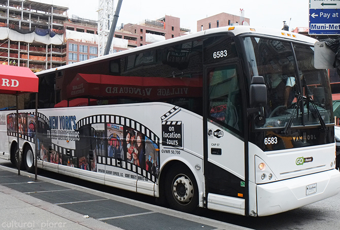 Sex and the city tour bus