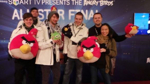 Samsung Angry Birds All Star Final - Royal Albert Hall
