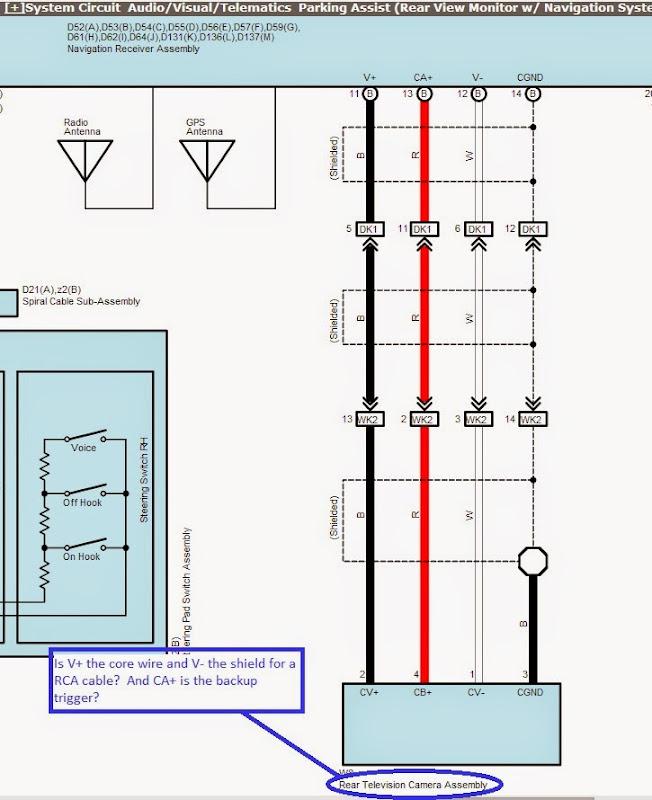 diagram diagram kenwood backup camera wiring diagram full