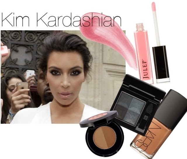 kim kardashian, kanye west, north west, kim kardashian makeup
