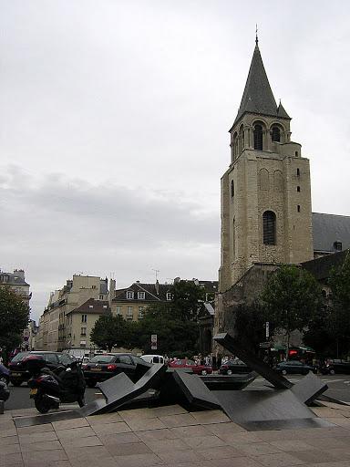 Qué ver en París en un fin de semana; iglesia Saint-Germain-des-Prés