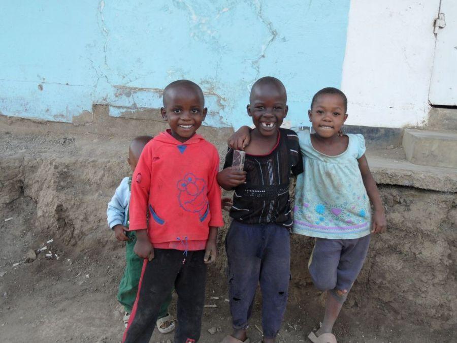 Tanzanya'lı Çocuklar
