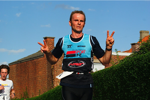 Andy Vercaigne, 10 km prestatieloop, Krottegemse Corrida 2013, Roeselare Loopt