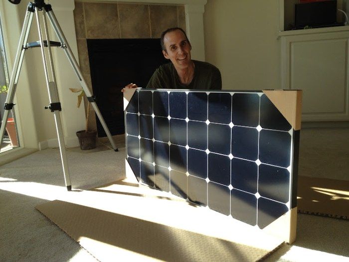 Our grape solar panel from AM Solar