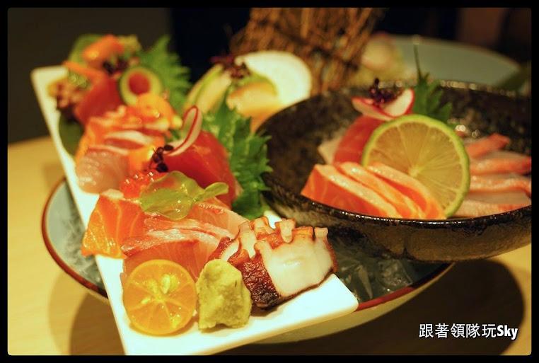 台北美食推薦-大安區超豐盛日式料理【天八日式居酒屋】