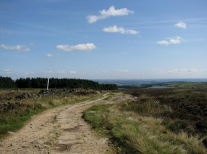 Path to Redmires Reservoirs