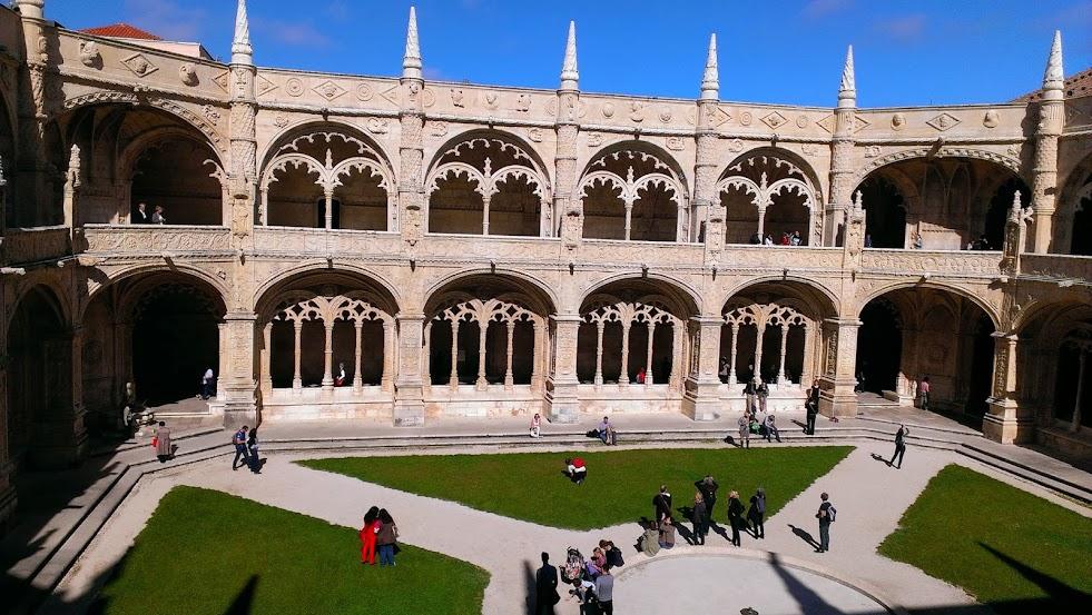 Claustro Monasterio Dos Jerónimos - Lisboa