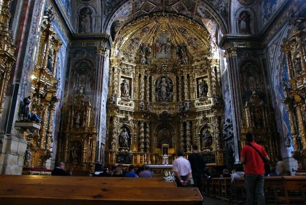 Rioja Alavesa. Retablo de la iglesia de Nuestra Señora de la Asunción, Labastida
