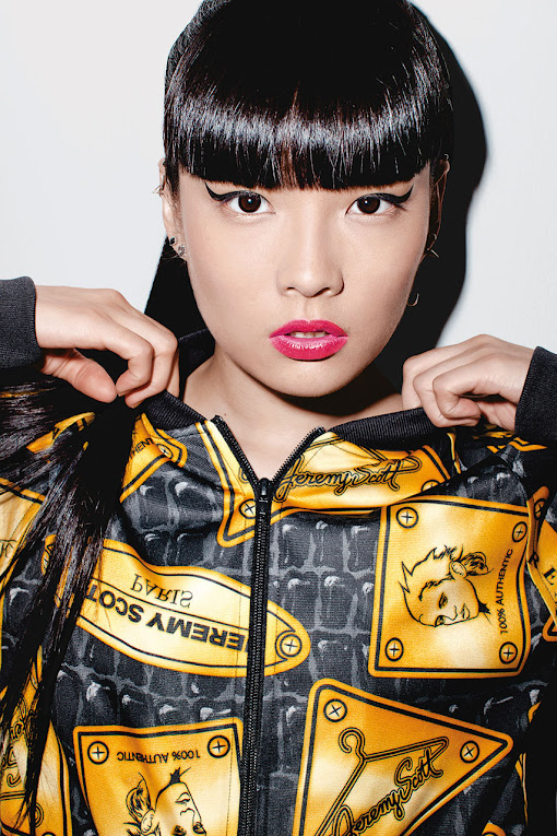 *看著都暈頭轉向了:adidas Originals x Jeremy Scott 2013 喧嘩秋冬 19