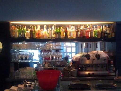 Bild von der Bar im Santa Lucia
