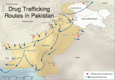 Drug Trafficking Routes of Pakistan