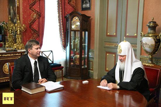 Erros do Photoshop: caso da igreja ortodoxa russa. Foto sem edição