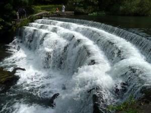 Weir on River Wye