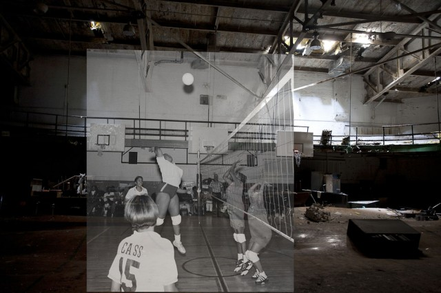 *Detroit Now And Then:極度詭譎昔日影像交錯重疊! 9