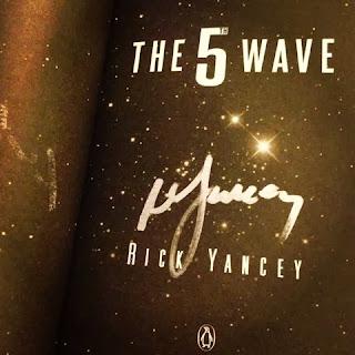 INTERVIEW WITH RICK YANCEY SIGNED COPY THE 5TH WAVE