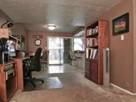 dining area and kitchen of this Tempe home for sale