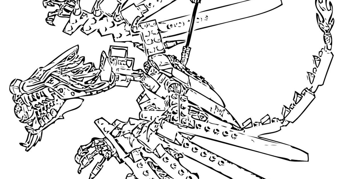 dessin à colorier ninjago