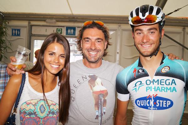 Larissa De Castro, Stefaan Desal en Guillaume Van Keirsbulck