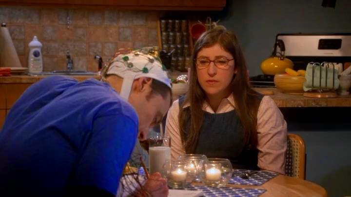 The big bang theory 8×13. Amy preocupada por Sheldon