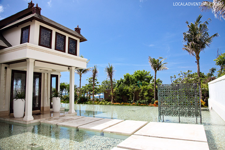 St Regis Bali Resort Wedding Chapel.