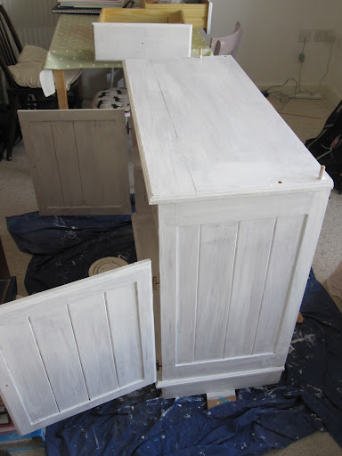 Another Piece of Charity-Shop Furniture gets a Revamp (3/6)