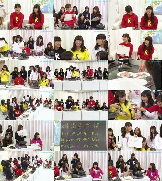 (TV-Variety)(720p) YNN [NMB48チャンネル] りぃちゃん24時間テレビ2014「チーム対抗!最強頭脳鍋」 150323