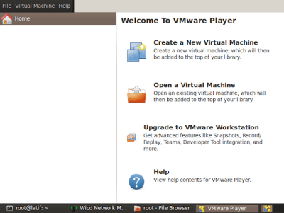 Istall VMware, erwin aditya latif