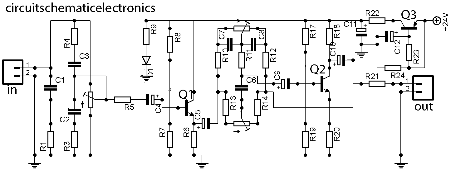 Stereo Tone Control With Loudness And Filter