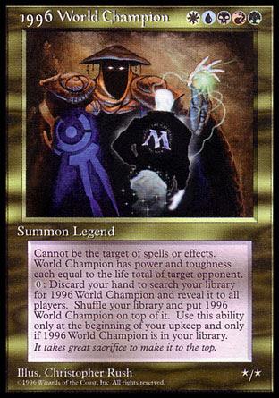 Magic World Champion 1996