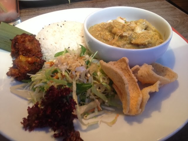 Chicken curry served at Banana Tree restaurant in London