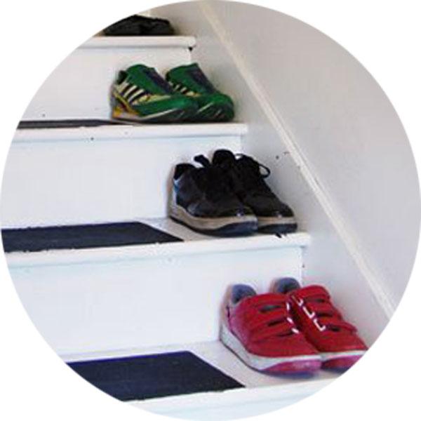Idea para ordenar zapatos