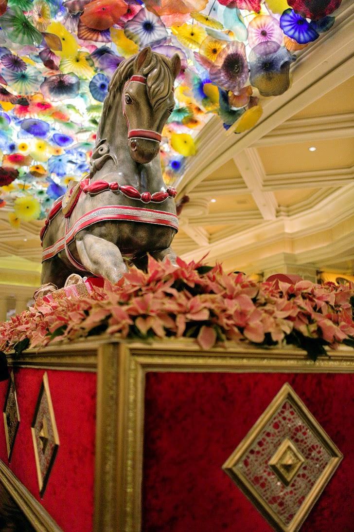 Bellagio Christmas in Vegas.