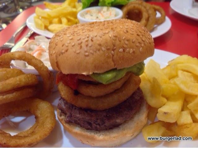 Ed's Easy Diner NFL Burgers