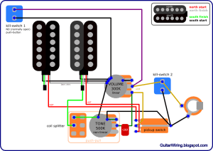 The Guitar Wiring Blog  diagrams and tips: Buckethead Signature Les Paul Wiring