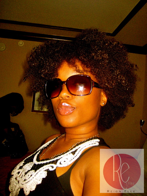 Wash and Wear Natural hairstyles