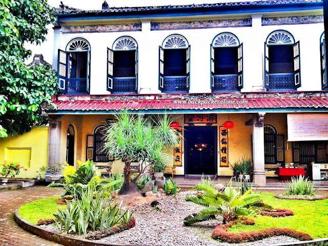 Halaman Depan Tjong Afie Mansion