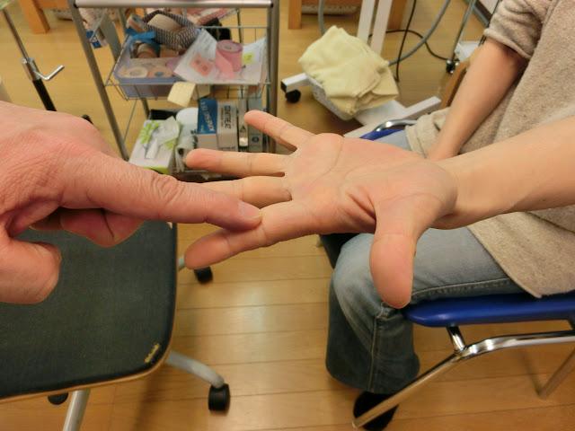 指を一本一本テスト-反対側