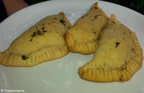 Corn and Onion Calzones Recipe